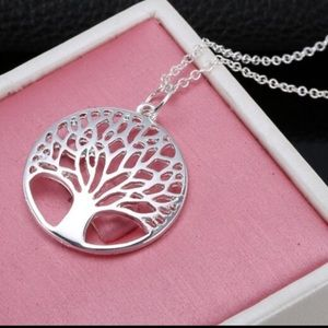 NEW Sterling Silver 925 Tree of Life necklace